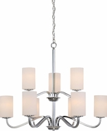 Nuvo 60-5809 Willow Polished Nickel Chandelier Light