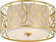 Nuvo 60-5931 Filigree Natural Brass Ceiling Light