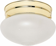 Nuvo 60-6030 Mushroom Polished Brass Ceiling Light
