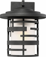 Nuvo 60-6402 Lansing Contemporary Textured Black Exterior 9  Wall Sconce Lighting