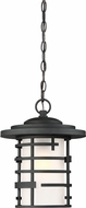 Nuvo 60-6405 Lansing Contemporary Textured Black Exterior Hanging Light