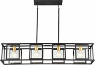 Nuvo 60-6417 Payne Contemporary Midnight Bronze Island Lighting