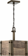 Nuvo 60-6421 Winchester Modern Bronze Mini Hanging Pendant Light