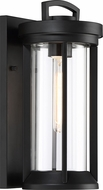 Nuvo 60-6502 Huron Modern Aged Bronze / Glass Outdoor Wall Lamp