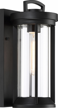 Nuvo 60 6502 Huron Modern Aged Bronze Glass Outdoor Wall
