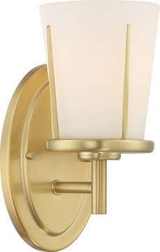 Nuvo 60-6531 Serene Natural Brass Lighting Sconce
