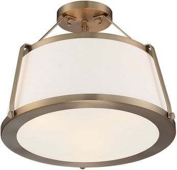 Nuvo 60-6997 Cutty Contemporary Burnished Brass Ceiling Lighting Fixture