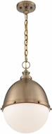 Nuvo 60-7039 Ronan Modern Burnished Brass 13  Drop Ceiling Lighting
