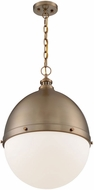 Nuvo 60-7049 Ronan Contemporary Burnished Brass 18  Drop Lighting Fixture