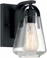 Nuvo 60-7101 Skybridge Matte Black Wall Sconce