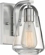 Nuvo 60-7111 Skybridge Brushed Nickel Wall Lamp