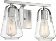 Nuvo 60-7112 Skybridge Brushed Nickel 2-Light Bath Lighting