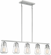 Nuvo 60-7114 Skybridge Brushed Nickel Kitchen Island Lighting