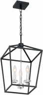 Nuvo 60-7145 Storyteller Matte Black and Polished Nickel Foyer Lighting