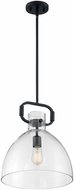 Nuvo 60-7152 Teresa Contemporary Matte Black Lighting Pendant