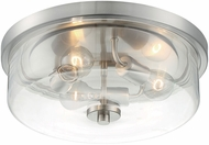 Nuvo 60-7169 Sommerset Modern Brushed Nickel 15  Overhead Lighting