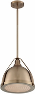 Nuvo 60-7202 Barbett Contemporary Burnished Brass Hanging Pendant Lighting