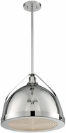 Nuvo 60-7213 Barbett Contemporary Polished Nickel Drop Lighting