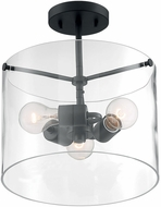 Nuvo 60-7278 Sommerset Modern Matte Black Ceiling Lighting