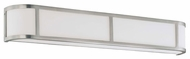 Nuvo 603804 Odeon ES 4-Lamp Wall Sconce in Brushed Nickel