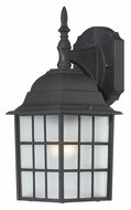Nuvo 604906 Adams Upper Mounting Textured Black Finish Outdoor Light Sconce