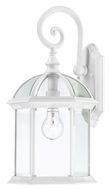 Nuvo 604961 Boxwood Antique Style White 15 Inch Tall Outdoor Wall Lighting - Small