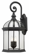Nuvo 604969 Boxwood Textured Black Finish 26 Inch Tall Outdoor Lighting Sconce =- Large