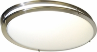 Nuvo 62-1041 Glamour Modern Brushed Nickel LED Ceiling Lighting