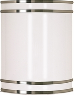 Nuvo 62-1045 Glamour Contemporary Brushed Nickel LED Wall Lighting