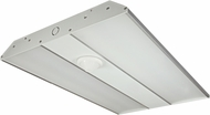 Nuvo 62-1072 Linear Hi-Bay Modern Aluminum LED 100 Watt Flush Mount Light Fixture