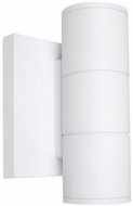 Nuvo 62-1141 Contemporary White LED Exterior 7  Wall Sconce Lighting