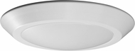 Nuvo 62-1164 Contemporary White LED 7  Flush Ceiling Light Fixture