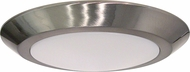 Nuvo 62-1166 Contemporary Brushed Nickel LED 10  Home Ceiling Lighting
