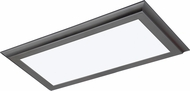 Nuvo 62-1172 Contemporary Gunmetal Grey LED Ceiling Light