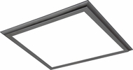 Nuvo 62-1173 Modern Gunmetal Grey LED Ceiling Light Fixture
