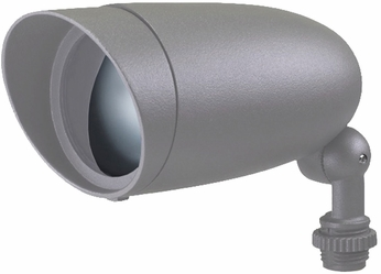 Nuvo 62-1204 Contemporary Light Gray LED Outdoor Home Security Light