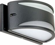 Nuvo 62-1221 Genova Modern Anthracite LED Exterior Wall Light Sconce