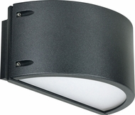 Nuvo 62-1223 Genova Contemporary Anthracite LED Outdoor Wall Lighting Fixture
