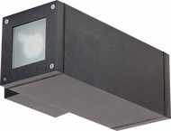 Nuvo 62-1231 Verona Modern Anthracite LED Exterior Wall Light Sconce