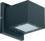 Nuvo 62-1235 Verona Modern Anthracite LED Exterior Wall Sconce