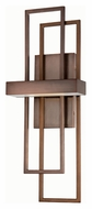 Nuvo 62-125 Frame Hazel Bronze Contemporary 20 Inch Tall LED Lighting Sconce