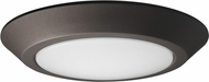 Nuvo 62-1263 Modern Mahogany Bronze LED 7  Flush Ceiling Light Fixture