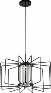 Nuvo 62-1353 Wired Modern Aged Bronze LED Hanging Pendant Lighting