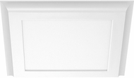 Nuvo 62-1381 Modern White LED 4000K 13  Flush Ceiling Light Fixture