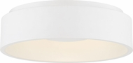 Nuvo 62-1451 Orbit Contemporary White LED 18  Ceiling Light Fixture