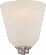 Nuvo 62-361 Calvin Brushed Nickel LED Lamp Sconce