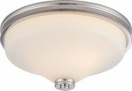 Nuvo 62-423 Cody Polished Nickel LED Ceiling Light Fixture