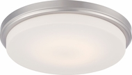Nuvo 62-609 Dale Brushed Nickel LED Ceiling Light Fixture