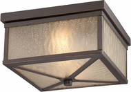 Nuvo 62-663 Haven Mahogany Bronze LED Flush Mount Lighting