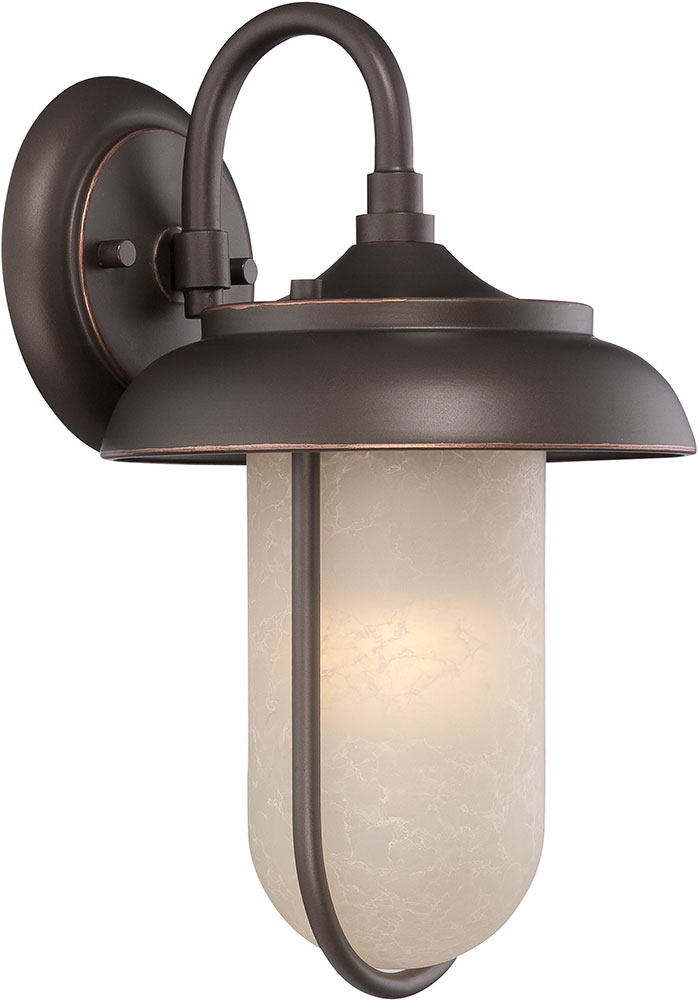 Nuvo 62 671 Tulsa Mahogany Bronze Led 8 25 Sconce Lighting